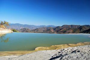 Hierve el Agua, Оахака