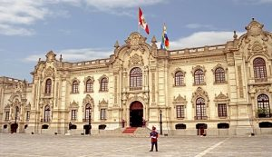 Президентский дворец был построен на вершине руин