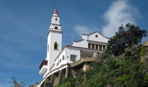 Вид на Боготу из Монсеррата