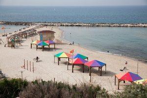 Прекрасные пляжи Тель-Авива