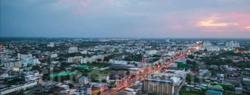 Город Корат в Тайланде